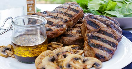 Simply Organic Easy Grilled Steak Marinade Recipe