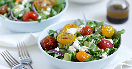 Simply Organic Easy Grilled Heirloom Tomato Salad Recipe