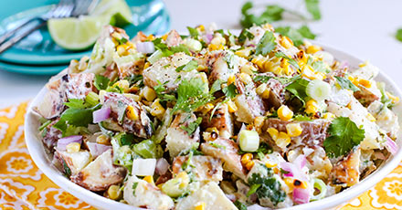 Simply Organic Easy Southwestern Potato Salad Recipe